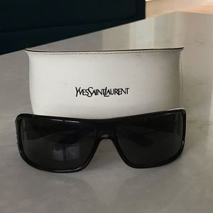 Yves Saint Laurent - YSL - Sunglasses - Black